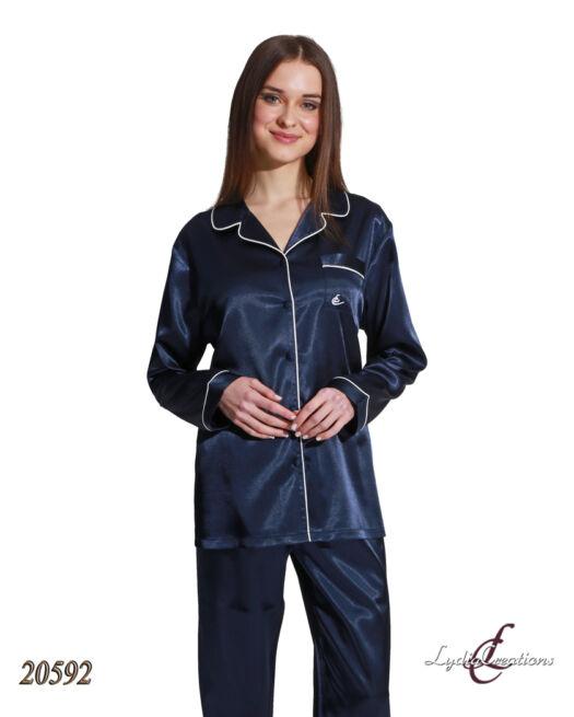 Lydia-20592-satin-dark-blue-pyjamas-classy