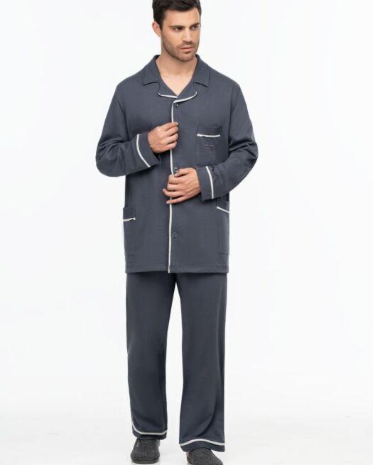 Giota-2001-man-pyjamas-grey-classic-homewear