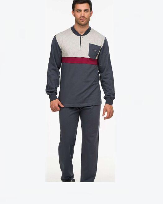 Giota-2378-man-pyjamas-grey-cute-homewear