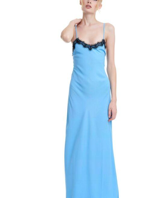 JE-M-EN-FOUS-20JMFD13-blue-satin-maxi-night-dress-black-lace