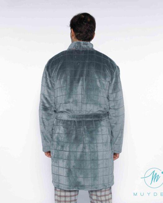 Muy-demi-M314318-man-robe-long-sleeves-grey-back